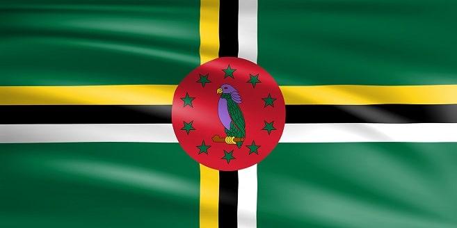 پرچم دومنیکا