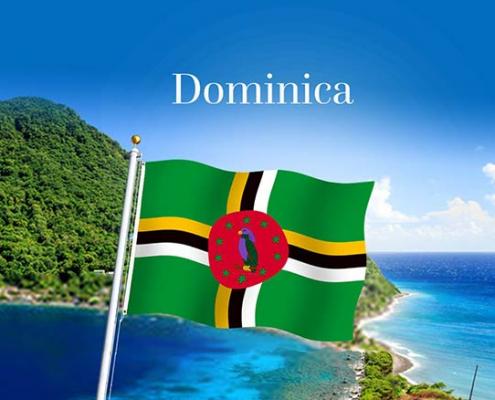 پاسپورت بیومتریک دومینیکا